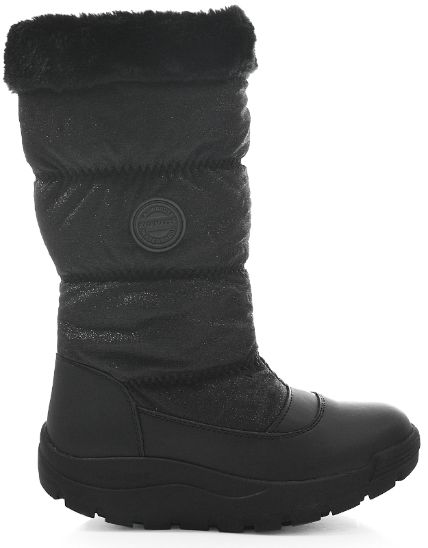 Зимние сапоги женские Walkmaxx COMFORT «БЛЕСК» 4.0. Цвет: черный 1