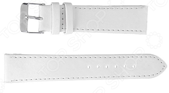 Ремешок для наручных часов Mitya Veselkov Белый ремешок для мужских часов широкий