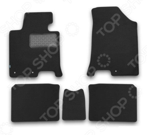 Комплект ковриков в салон автомобиля Klever Hyundai i40 2012 Premium