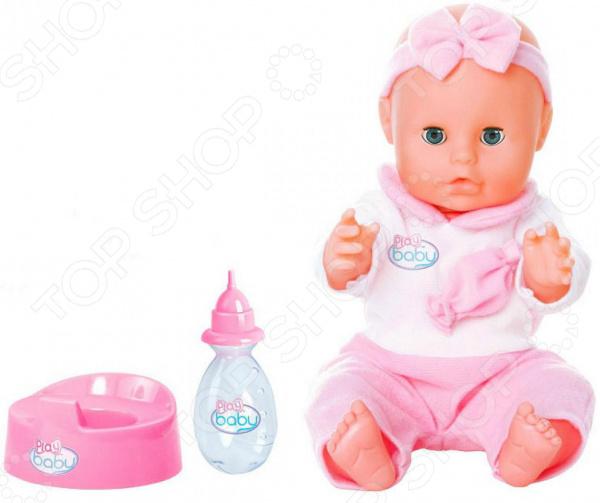 Zakazat.ru: Пупс Toys Lab Play Baby в розовом