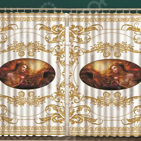 Комплект фотоштор с тюлем «Византия»