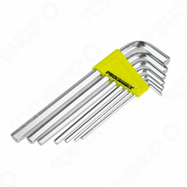 Набор ключей шестигранных PROconnect HEX длинных
