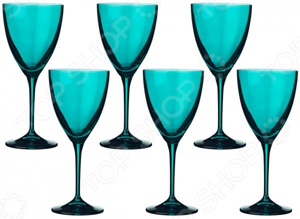 Набор бокалов для вина Bohemia Crystal Kate 674-582 набор бокалов crystalex джина б декора 6шт 210мл шампанское стекло