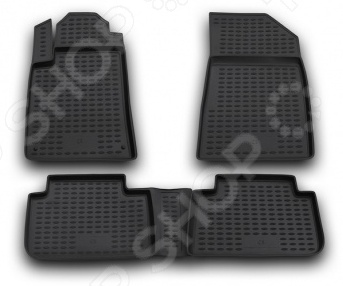 Комплект ковриков в салон автомобиля Novline-Autofamily Citroen C5 2001-2008