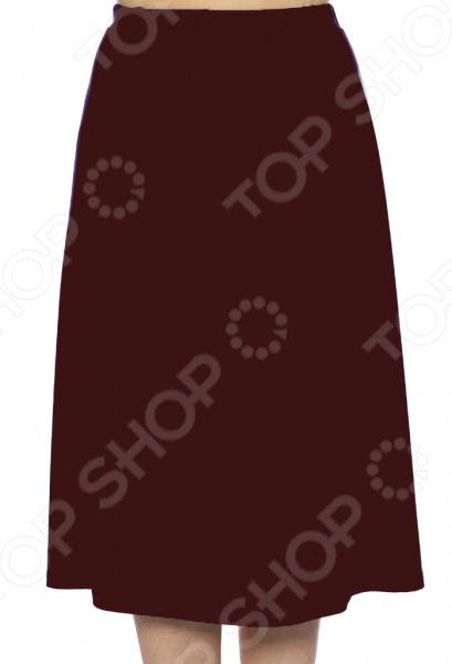 Юбка Лауме-Лайн «Чуткая женщина». Цвет: бордовый юбка лауме лайн волшебная улыбка цвет коричневый