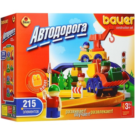 Купить Конструктор игровой Bauer «Автодорога»