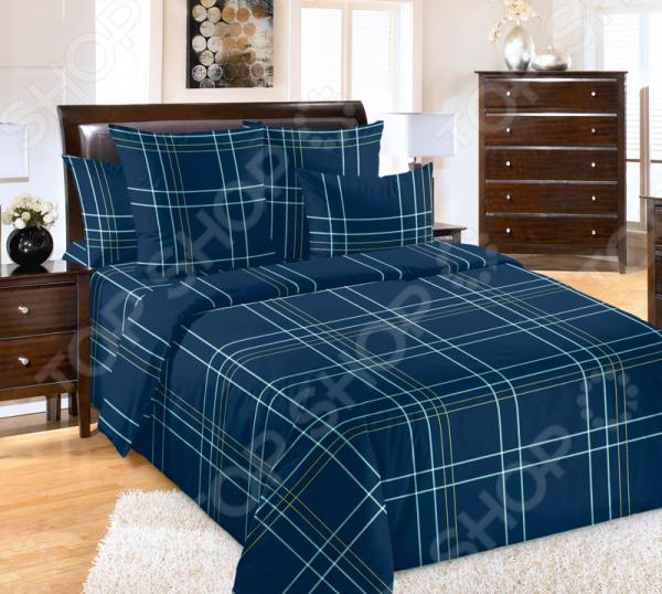 цена Комплект постельного белья ТексДизайн «Патрик» онлайн в 2017 году