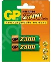 Набор батареек аккумуляторных GP 230AAHC-2DECRC2 pilot набор стержней для шариковой ручки bps gp цвет черный 12 шт fj gp m b 12