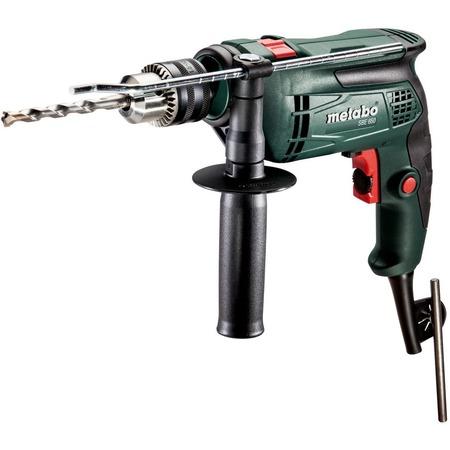 Купить Дрель-шуруповерт ударная Metabo SBE 650 с ключевым патроном