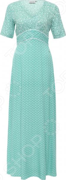 Платье Finn Flare S16-11075. Цвет: темно-бирюзовый