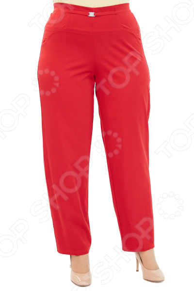 Брюки Blagof «Президентский прием». Цвет: вишневый брюки blagof брюки зауженные