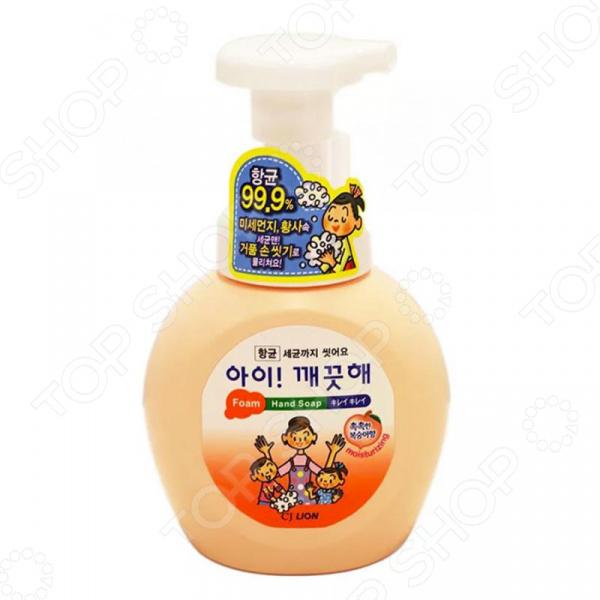 Мыло жидкое для рук CJ Lion Ai-Kekute «Персик» зодиак мыло прозрачное жидкое 2л персик 1224471