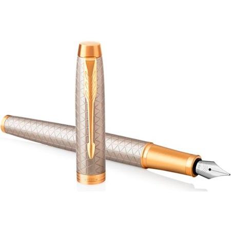 Купить Ручка перьевая Parker IM Premium Grey GT