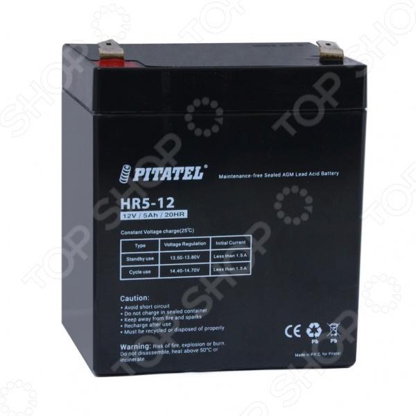 Аккумулятор для источников бесперебойного питания Pitatel HR5-12