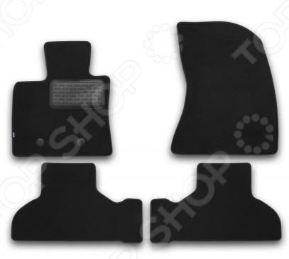 Комплект ковриков в салон автомобиля Klever BMW X5 F15 2013 Premium коврики в салон seintex ворсовые 3d для bmw 5 ser f 10 черные 2010