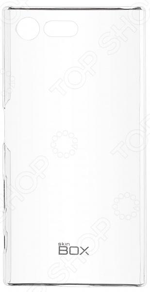 Чехол защитный skinBOX 4People Crystal для Sony Xperia X Compact
