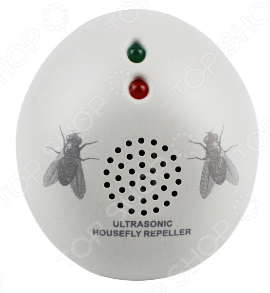 Ультразвуковой отпугиватель мух ЭкоСнайпер AN-A323 экоснайпер стационарный уничтожитель насекомых gh1f