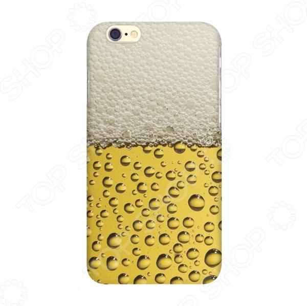 Чехол для IPhone 6 Mitya Veselkov «Пиво» аксессуар чехол elari для elari cardphone и iphone 6 plus blue