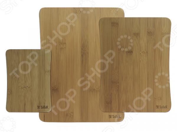 Набор разделочных досок TalleR TR-2216 набор досок раздел taller 3шт бамбук