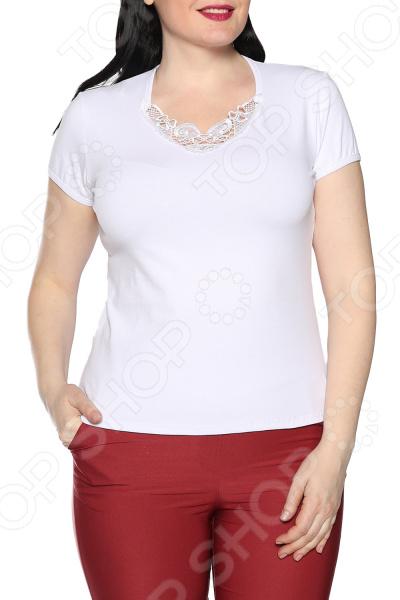 Блуза Ивассорти «Волнующее кружево». Цвет: белый