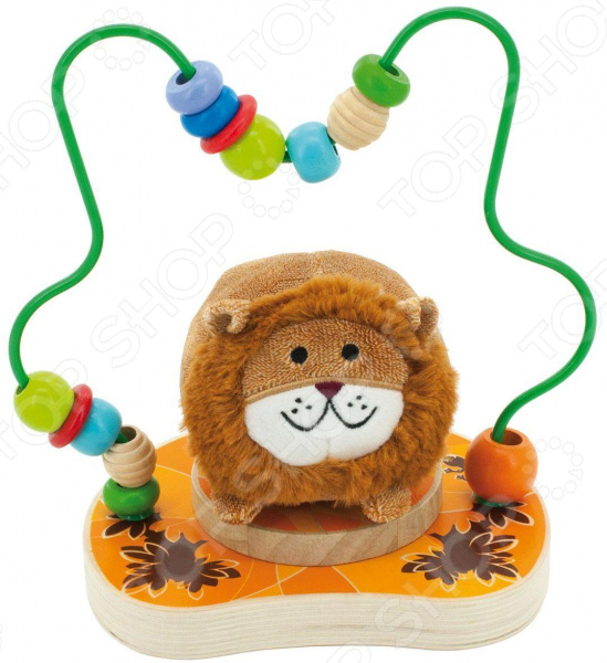 Игрушка-лабиринт Мир Деревянных Игрушек «Лева» мир деревянных игрушек лабиринт лева д386