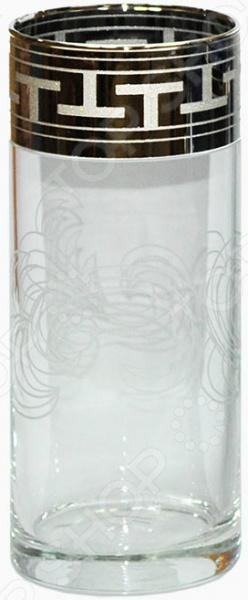 Набор стаканов Гусь Хрустальный «Греческий Узор» высокий набор бокалов для бренди гусь хрустальный греческий узор 400 мл 6 шт