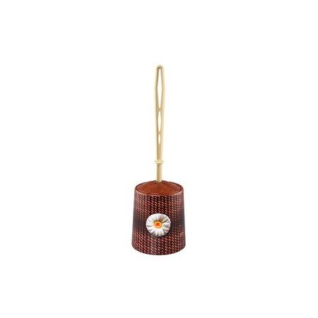 Купить Ёршик для туалета и подставка круглая для детей Violet 1401/80 «Плетенка»
