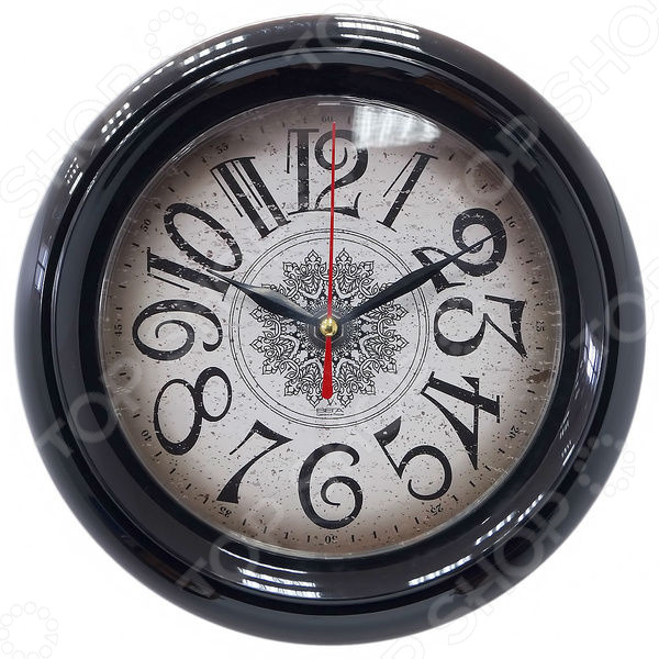 Часы настенные Вега П 6-6-37 «Снежинка»