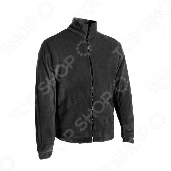 Куртка флисовая Huntsman «Байкал». Цвет: черный Куртка флисовая Huntsman BL-200-K /52-54