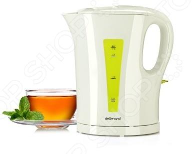 Электрический чайник Delimano Utile это простотой в использовании электрический чайник от Delimano. Он будет отлично смотреться на любой кухне. Благодаря своей высокой мощности он с легкостью быстро вскипятит воду. Преимущества электрического чайника Delimano Utile:  функция автоматического выключения;  индикатор уровня воды;  световой индикатор включения выключения.
