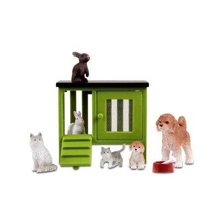 Купить Игрушечные животные для кукольного домика Lundby «Домашние животные»