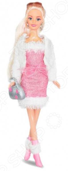 Кукла Toys Lab «Ася. Блондинка в платье и белой шубке» 1014061