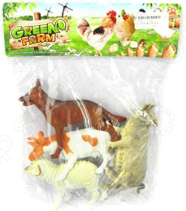 Набор фигурок домашних животных Shantou Gepai Farm animal J142