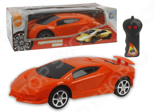 Машина на радиоуправлении 1 Toy «Спорткар» цена