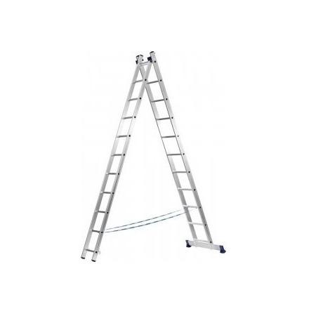 Лестница двухсекционная Сибин 38823