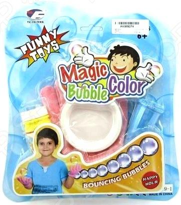 Мыльные пузыри Funny Toys с перчатками