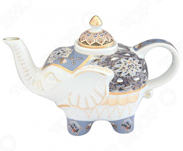 Чайник заварочный Elan Gallery «Слон: Калейдоскоп»