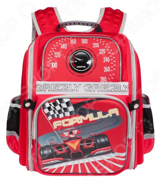 Рюкзак школьный Grizzly RA-677-2/2