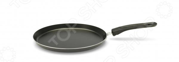 Сковорода блинная Delimano. Диаметр: 25 см    /Серебряная глазурь