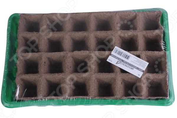 Набор для выращивания рассады Archimedes с торфяными горшочками набор для маркировки рассады archimedes 90817