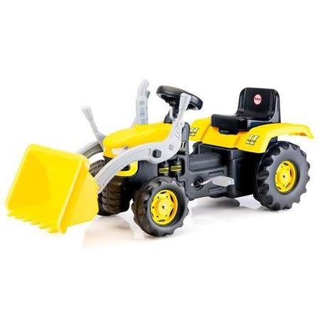 Купить Машина-каталка педальная Dolu «Трактор-экскаватор»