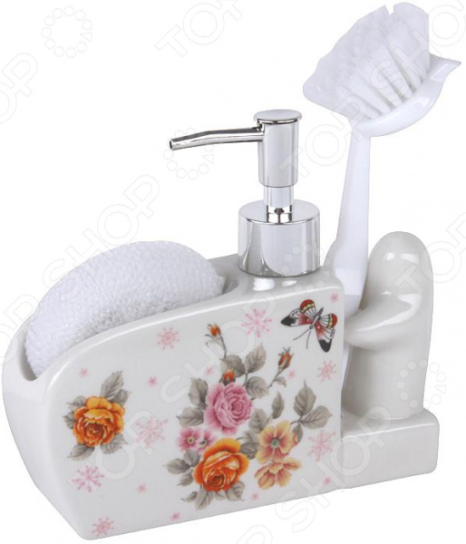 Дозатор для моющего средства Rosenberg RCE-335017 набор для ванной комнаты rosenberg rce 350004 3