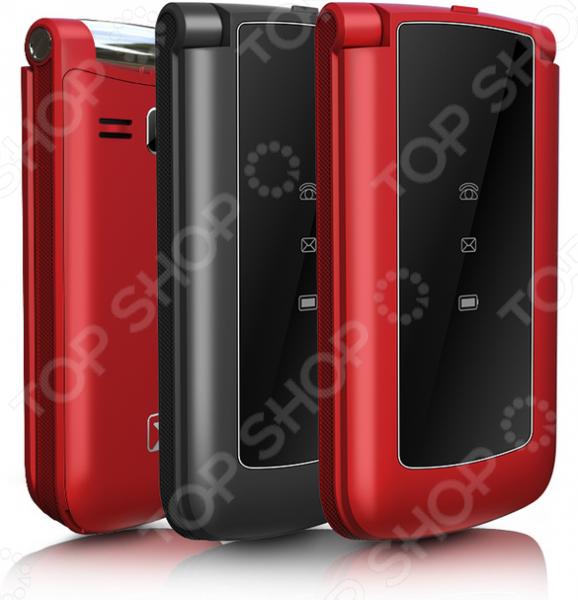 Мобильный телефон-раскладушка Texet TM-317 телефон dect gigaset l410 устройство громкой связи