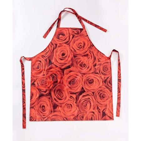 Купить Фартук Сирень «Бархатные розы»