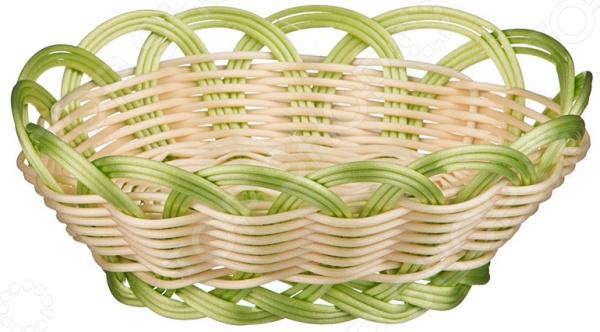 Корзинка плетеная Agness 890-055 блюдо agness 546 055