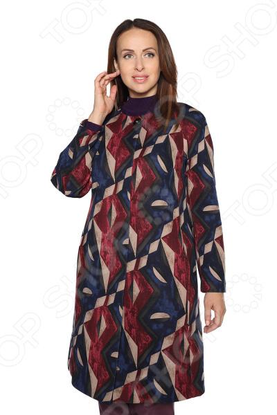Плащ-пальто VEAS «Листопад». Цвет: бордовый сумка guess hwvn67 78230 bla page 5