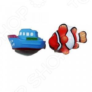Набор игрушек-брызгалок для ванны Yako «Акварики» 1724236