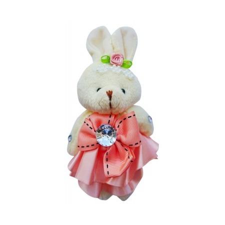 Купить Набор мягких игрушек Color Kit «Заяц». Цвет: светло-розовый