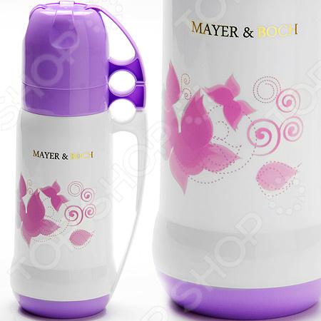 Термос Mayer&Boch 26099 26099 термос 1л ст колба 2 кружки mb 1203216