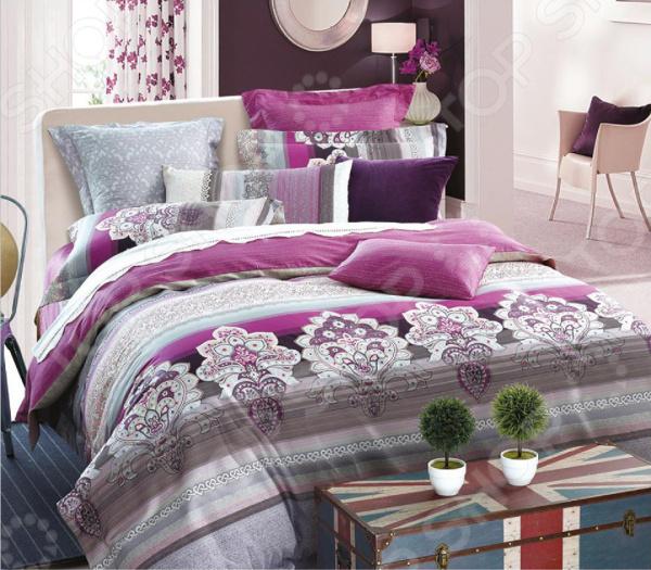 Комплект постельного белья La Noche Del Amor А-630 обувница вентал арт nova 2 фасады мдф венге белый глянец